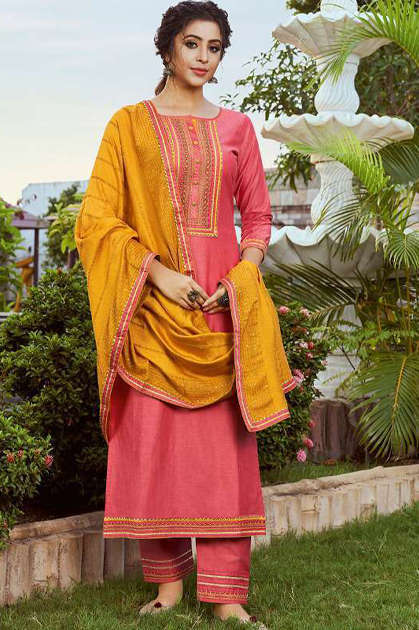 Rangoon Rangoli by Kessi Readymade Salwar Suit Wholesale Catalog 4 Pcs