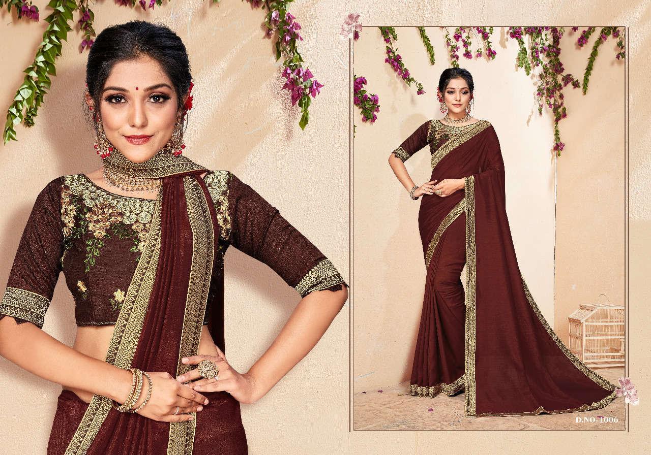 Ranjna Jal Dhara Saree Sari Wholesale Catalog 8 Pcs 4 - Ranjna Jal Dhara Saree Sari Wholesale Catalog 8 Pcs