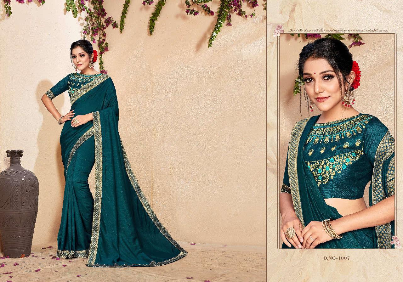 Ranjna Jal Dhara Saree Sari Wholesale Catalog 8 Pcs 5 - Ranjna Jal Dhara Saree Sari Wholesale Catalog 8 Pcs
