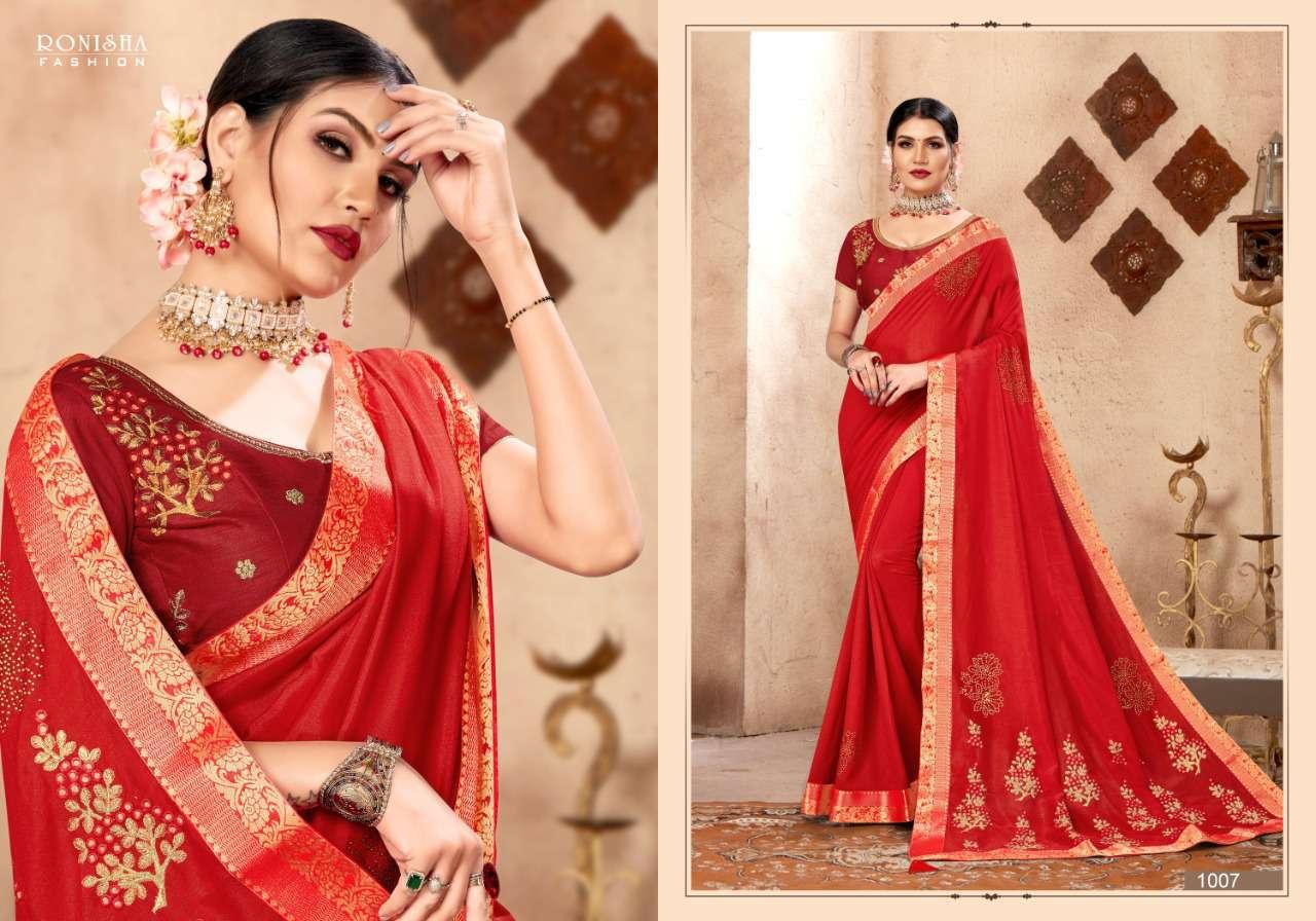 Ranjna Kavira Saree Sari Wholesale Catalog 8 Pcs 3 - Ranjna Kavira Saree Sari Wholesale Catalog 8 Pcs
