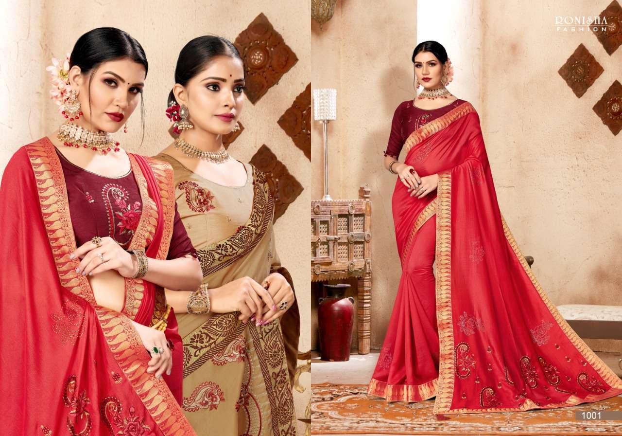Ranjna Kavira Saree Sari Wholesale Catalog 8 Pcs 5 - Ranjna Kavira Saree Sari Wholesale Catalog 8 Pcs