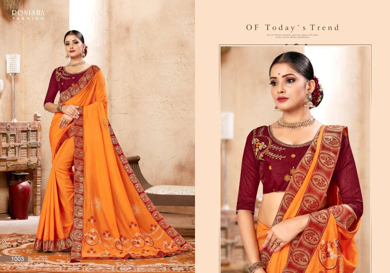 Ranjna Kavira Saree Sari Wholesale Catalog 8 Pcs 6 - Ranjna Kavira Saree Sari Wholesale Catalog 8 Pcs