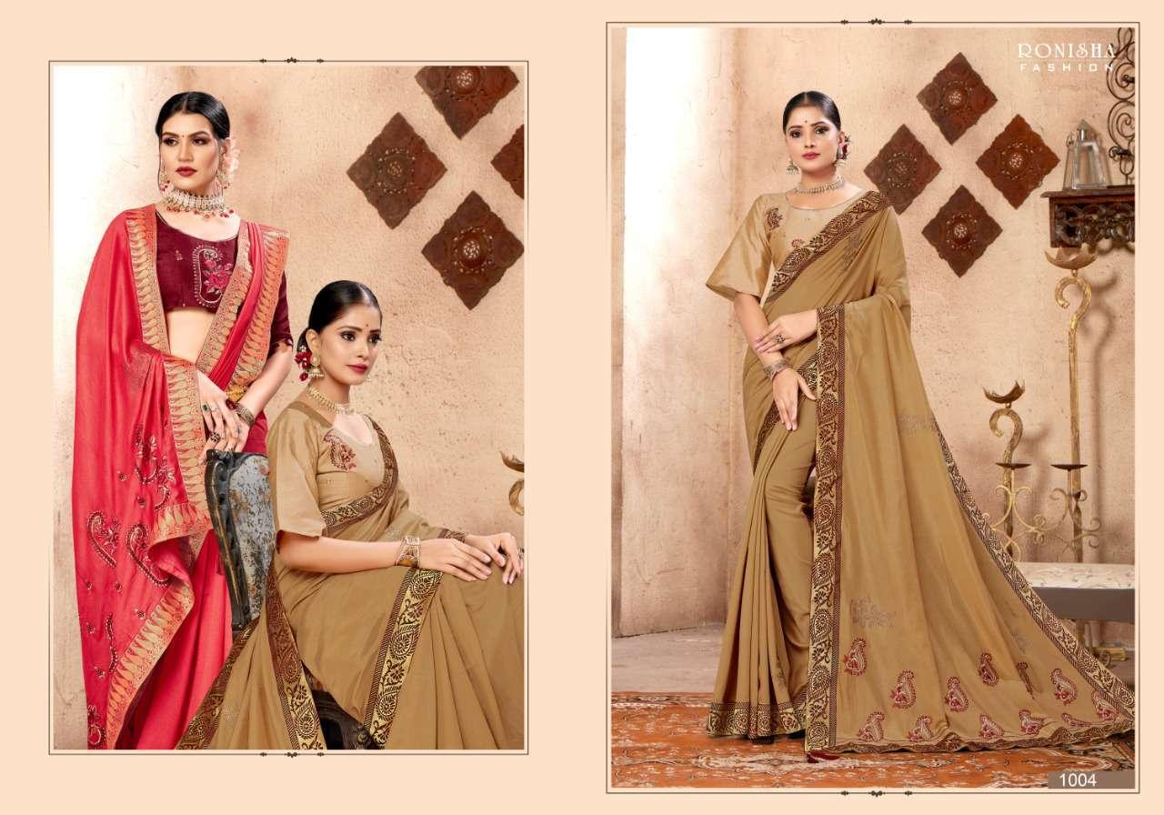 Ranjna Kavira Saree Sari Wholesale Catalog 8 Pcs 7 - Ranjna Kavira Saree Sari Wholesale Catalog 8 Pcs