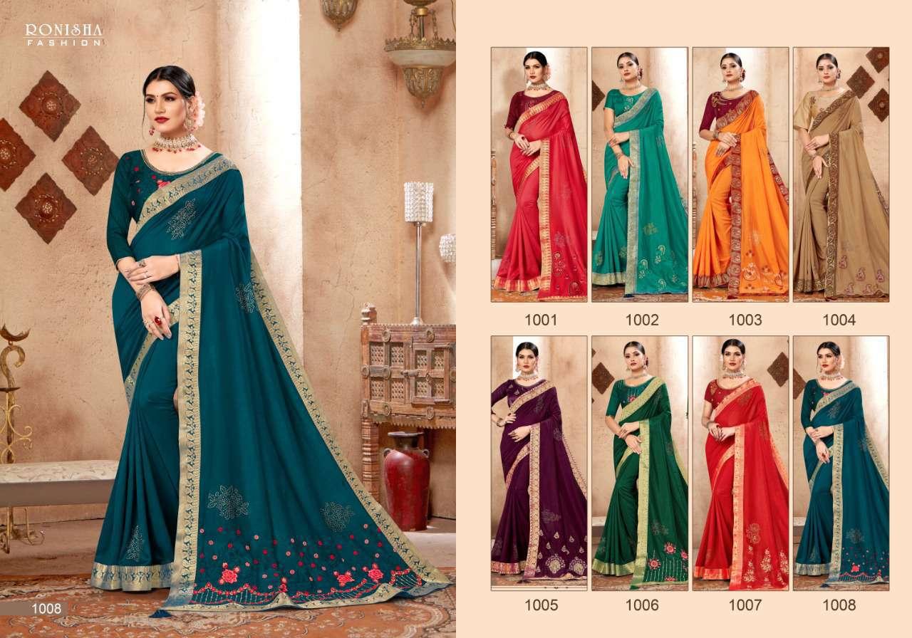 Ranjna Kavira Saree Sari Wholesale Catalog 8 Pcs 8 - Ranjna Kavira Saree Sari Wholesale Catalog 8 Pcs