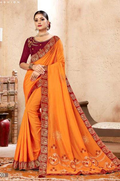 Ranjna Kavira Saree Sari Wholesale Catalog 8 Pcs - Ranjna Kavira Saree Sari Wholesale Catalog 8 Pcs
