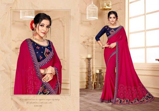 Ranjna Raisin Saree Sari Wholesale Catalog 8 Pcs 2 510x357 - Ranjna Raisin Saree Sari Wholesale Catalog 8 Pcs