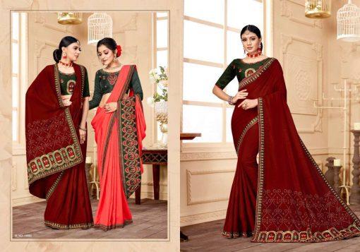 Ranjna Raisin Saree Sari Wholesale Catalog 8 Pcs 5 510x357 - Ranjna Raisin Saree Sari Wholesale Catalog 8 Pcs