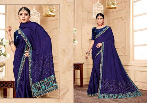 Ranjna Raisin Saree Sari Wholesale Catalog 8 Pcs 6 510x357 - Ranjna Raisin Saree Sari Wholesale Catalog 8 Pcs
