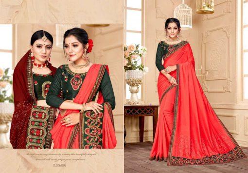 Ranjna Raisin Saree Sari Wholesale Catalog 8 Pcs 7 510x357 - Ranjna Raisin Saree Sari Wholesale Catalog 8 Pcs