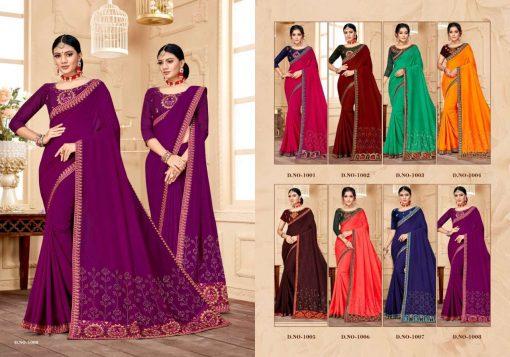Ranjna Raisin Saree Sari Wholesale Catalog 8 Pcs 9 510x357 - Ranjna Raisin Saree Sari Wholesale Catalog 8 Pcs