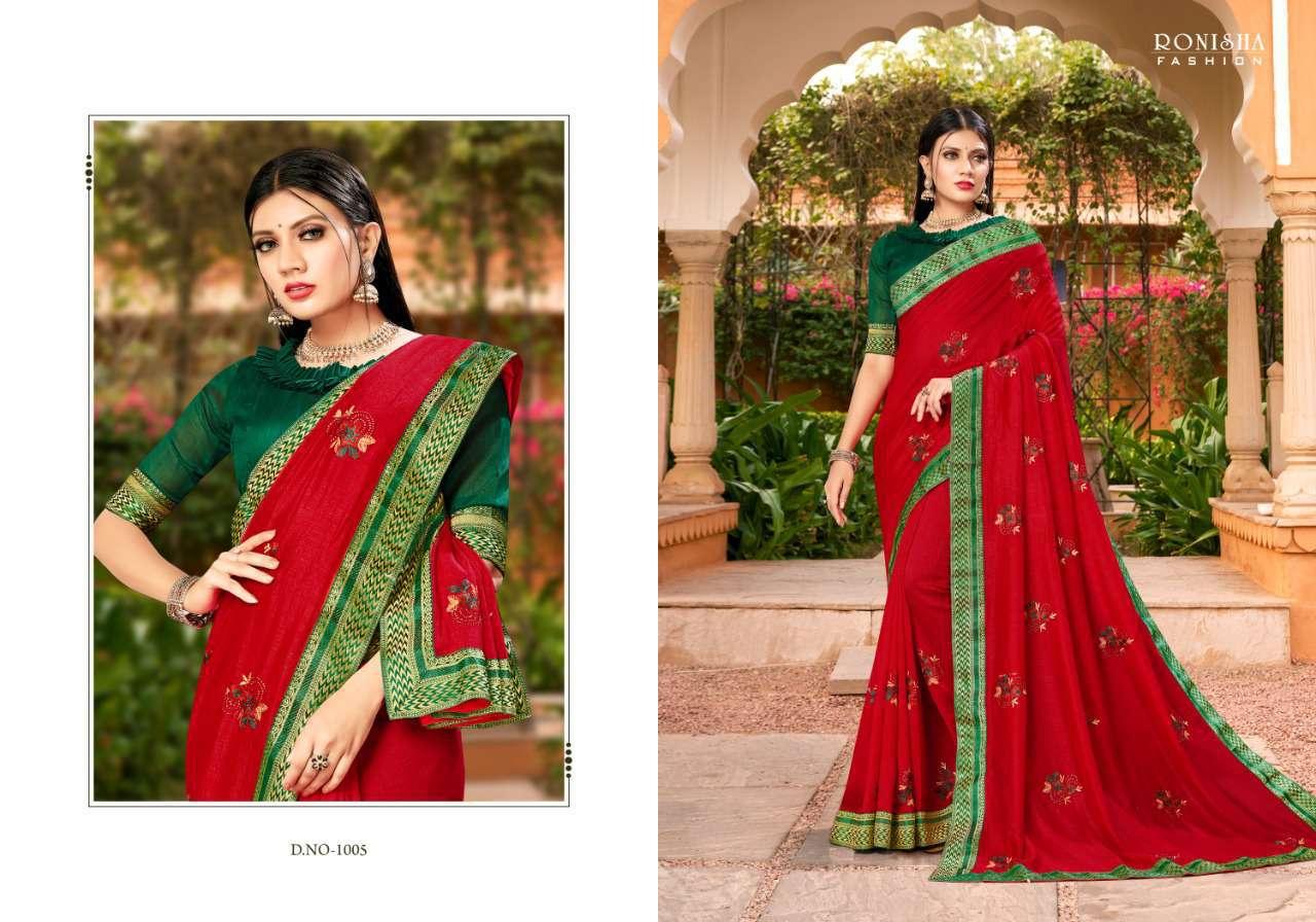 Ranjna Veronika Saree Sari Wholesale Catalog 8 Pcs 2 - Ranjna Veronika Saree Sari Wholesale Catalog 8 Pcs
