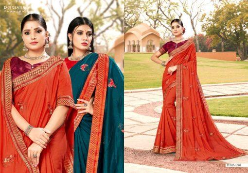 Ranjna Veronika Saree Sari Wholesale Catalog 8 Pcs 3 510x357 - Ranjna Veronika Saree Sari Wholesale Catalog 8 Pcs