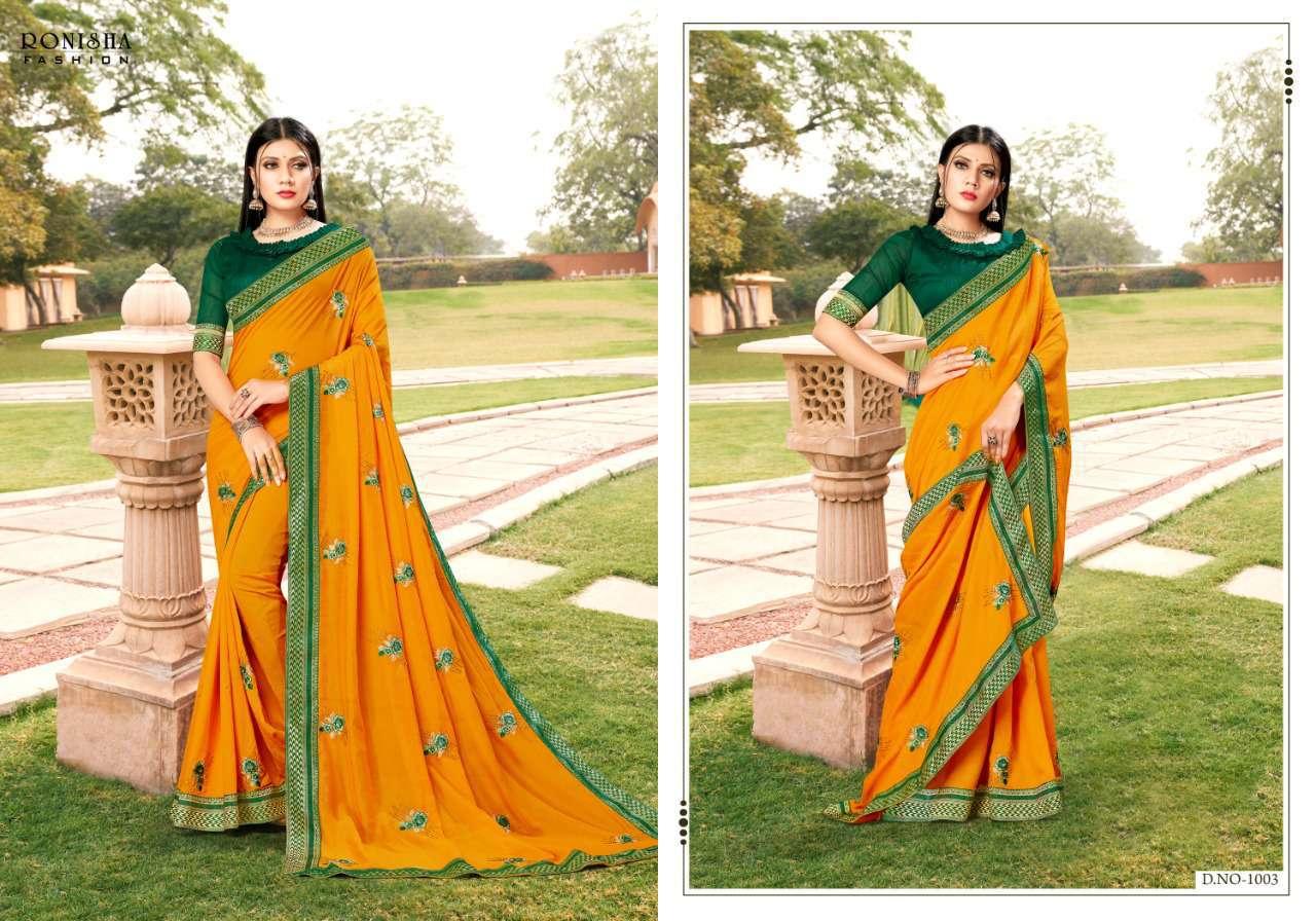 Ranjna Veronika Saree Sari Wholesale Catalog 8 Pcs 4 - Ranjna Veronika Saree Sari Wholesale Catalog 8 Pcs