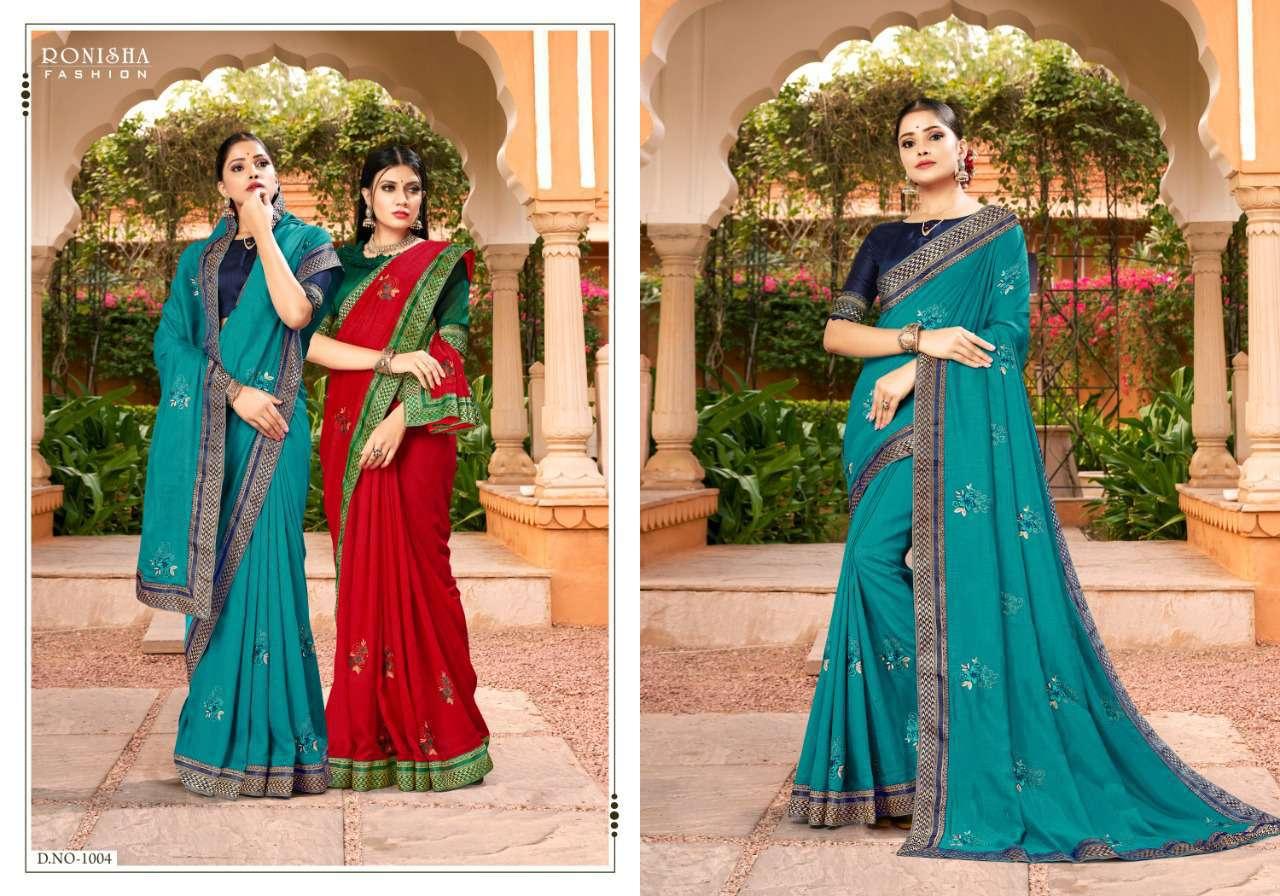 Ranjna Veronika Saree Sari Wholesale Catalog 8 Pcs 5 - Ranjna Veronika Saree Sari Wholesale Catalog 8 Pcs