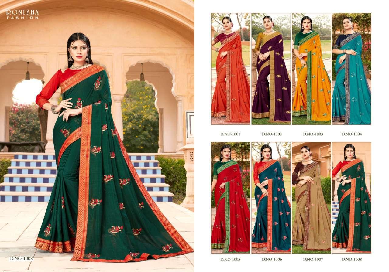 Ranjna Veronika Saree Sari Wholesale Catalog 8 Pcs 8 - Ranjna Veronika Saree Sari Wholesale Catalog 8 Pcs
