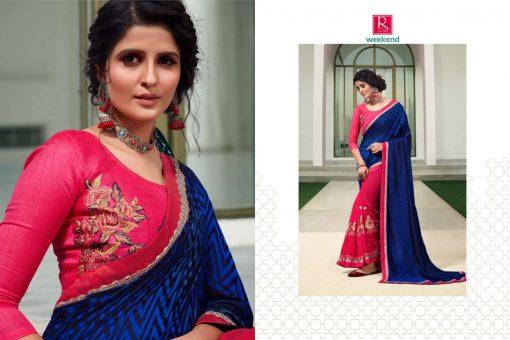 Ranjna Weekend Saree Sari Wholesale Catalog 6 Pcs 5 510x340 - Ranjna Weekend Saree Sari Wholesale Catalog 6 Pcs