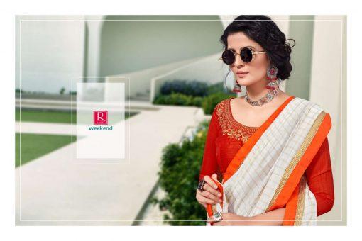 Ranjna Weekend Saree Sari Wholesale Catalog 6 Pcs 6 510x340 - Ranjna Weekend Saree Sari Wholesale Catalog 6 Pcs