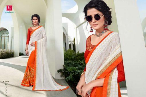 Ranjna Weekend Saree Sari Wholesale Catalog 6 Pcs 7 510x340 - Ranjna Weekend Saree Sari Wholesale Catalog 6 Pcs