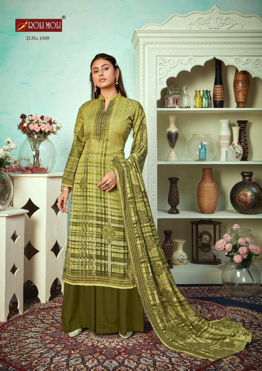 Roli Moli Mallika Salwar Suit Wholesale Catalog 10 Pcs 5 - Roli Moli Mallika Salwar Suit Wholesale Catalog 10 Pcs