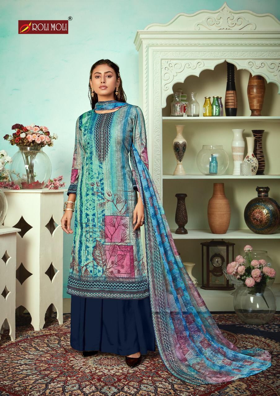 Roli Moli Mallika Salwar Suit Wholesale Catalog 10 Pcs 9 - Roli Moli Mallika Salwar Suit Wholesale Catalog 10 Pcs