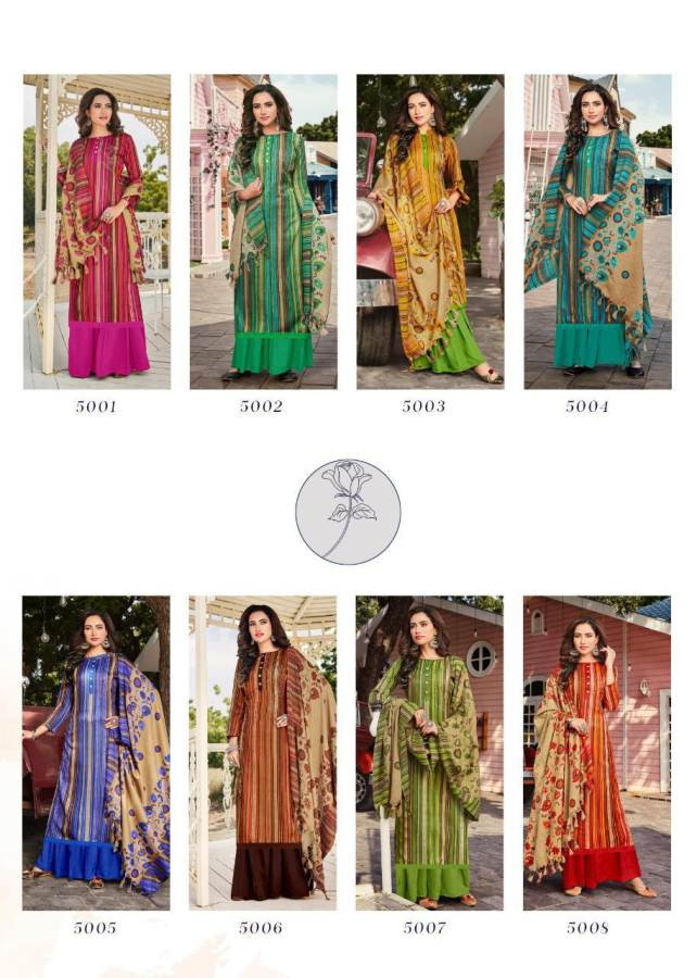 Roli Moli Minar Pashmina Salwar Suit Wholesale Catalog 8 Pcs 9 - Roli Moli Minar Pashmina Salwar Suit Wholesale Catalog 8 Pcs