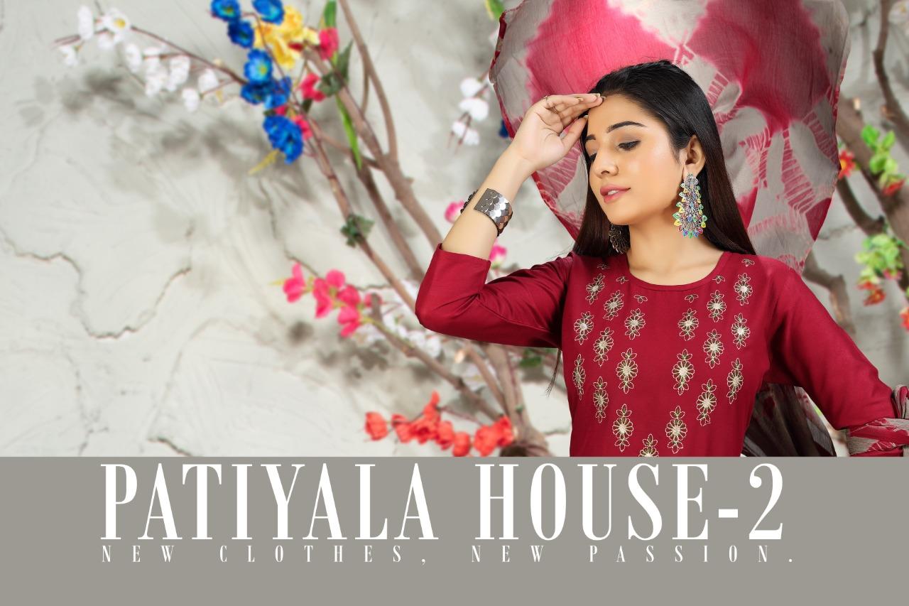 SS Patiyala House Vol 2 Kurti with Dupatta Bottom Wholesale Catalog 6 Pcs 7 - SS Patiyala House Vol 2 Kurti with Dupatta Bottom Wholesale Catalog 6 Pcs