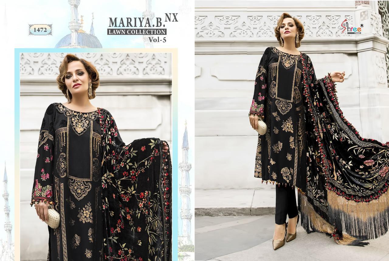 Shree Fabs Mariya B Lawn Collection Vol 5 Nx Salwar Suit Wholesale Catalog 6 Pcs 6 - Shree Fabs Mariya B Lawn Collection Vol 5 Nx Salwar Suit Wholesale Catalog 6 Pcs