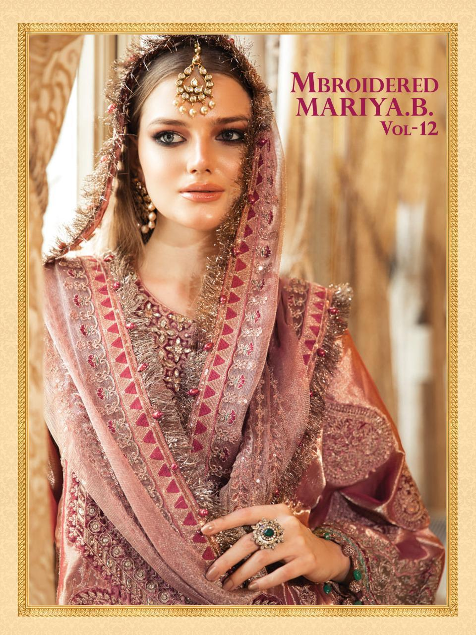 Shree Fabs Mbroidered Mariya B Vol 12 Salwar Suit Wholesale Catalog 6 Pcs 1 - Shree Fabs Mbroidered Mariya B Vol 12 Salwar Suit Wholesale Catalog 6 Pcs