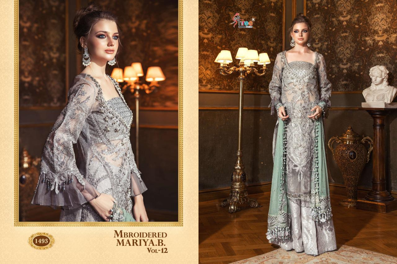 Shree Fabs Mbroidered Mariya B Vol 12 Salwar Suit Wholesale Catalog 6 Pcs 5 - Shree Fabs Mbroidered Mariya B Vol 12 Salwar Suit Wholesale Catalog 6 Pcs