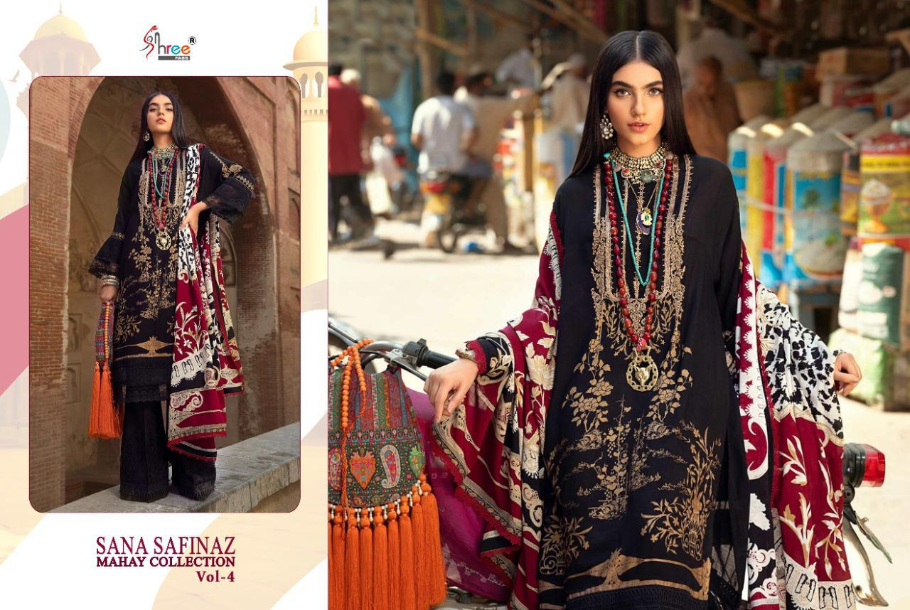 Shree Fabs Sana Safinaz Mahay Collection Vol 4 Salwar Suit Wholesale Catalog 6 Pcs 10 - Shree Fabs Sana Safinaz Mahay Collection Vol 4 Salwar Suit Wholesale Catalog 6 Pcs