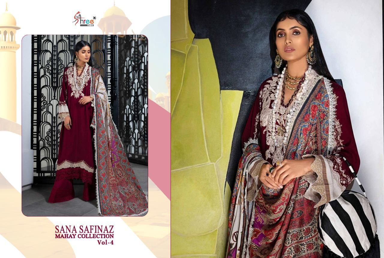 Shree Fabs Sana Safinaz Mahay Collection Vol 4 Salwar Suit Wholesale Catalog 6 Pcs 12 - Shree Fabs Sana Safinaz Mahay Collection Vol 4 Salwar Suit Wholesale Catalog 6 Pcs