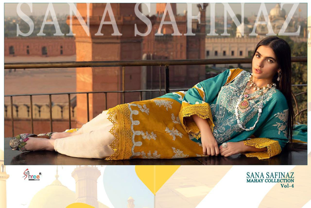 Shree Fabs Sana Safinaz Mahay Collection Vol 4 Salwar Suit Wholesale Catalog 6 Pcs 3 - Shree Fabs Sana Safinaz Mahay Collection Vol 4 Salwar Suit Wholesale Catalog 6 Pcs