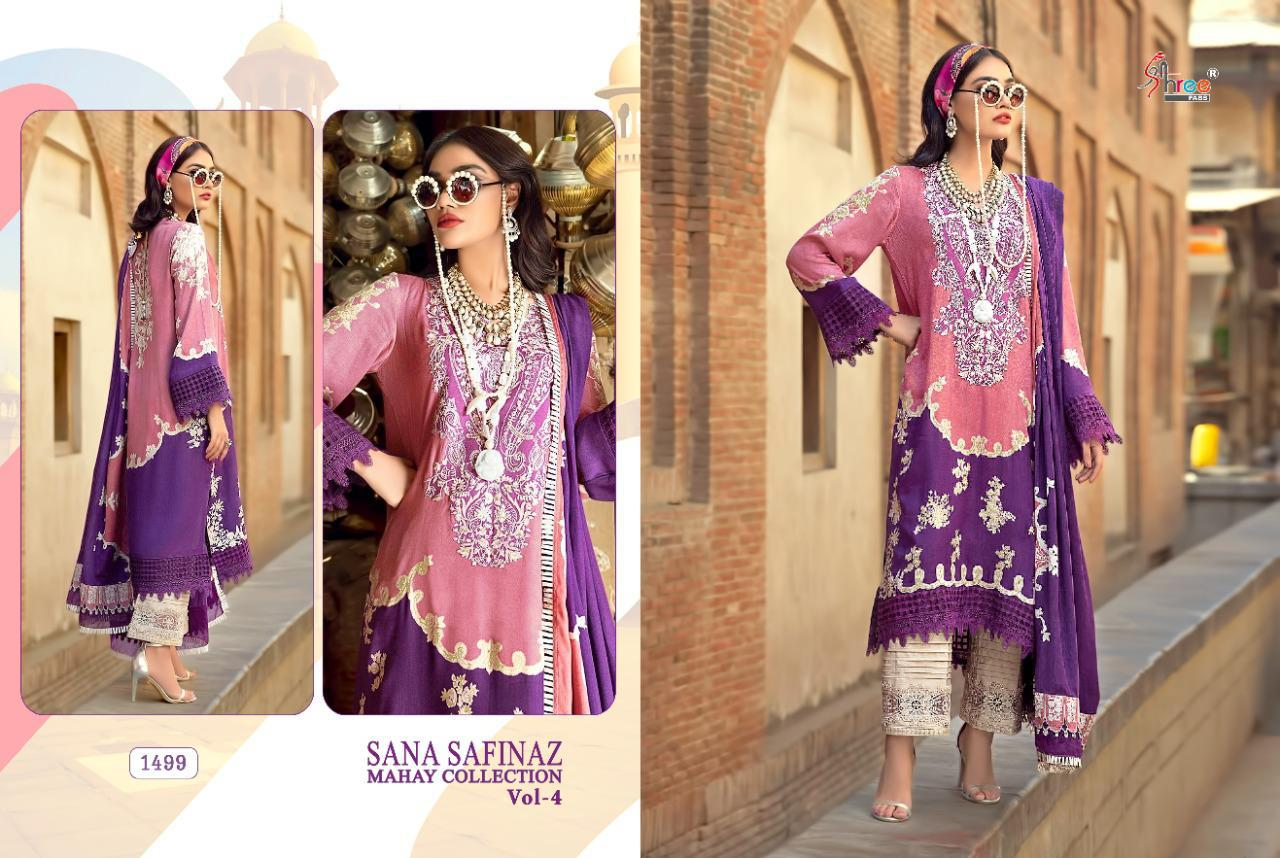 Shree Fabs Sana Safinaz Mahay Collection Vol 4 Salwar Suit Wholesale Catalog 6 Pcs 5 - Shree Fabs Sana Safinaz Mahay Collection Vol 4 Salwar Suit Wholesale Catalog 6 Pcs