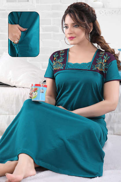 Vassu Vol 4 Nighty Wholesale Catalog 6 Pcs
