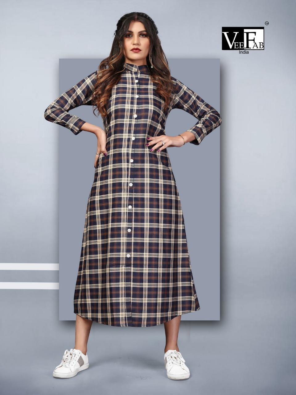 Vee Fab Winter Grace Vol 7 Kurti Wholesale Catalog 6 Pcs 2 - Vee Fab Winter Grace Vol 7 Kurti Wholesale Catalog 6 Pcs