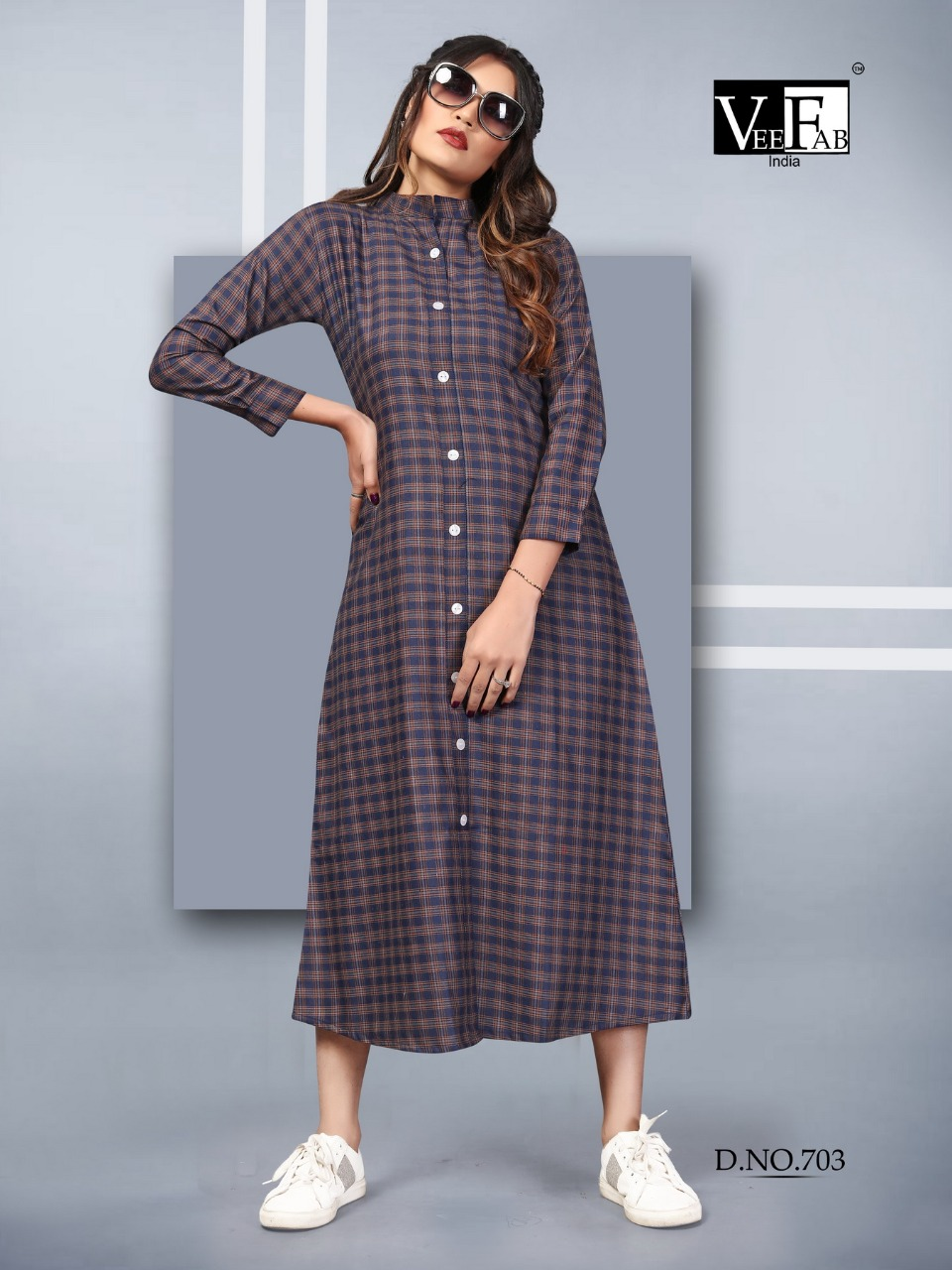 Vee Fab Winter Grace Vol 7 Kurti Wholesale Catalog 6 Pcs 6 - Vee Fab Winter Grace Vol 7 Kurti Wholesale Catalog 6 Pcs