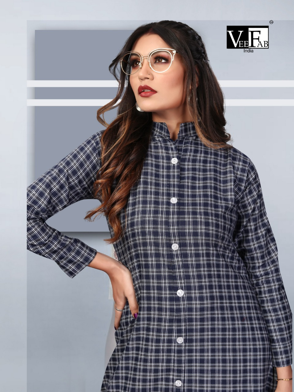 Vee Fab Winter Grace Vol 7 Kurti Wholesale Catalog 6 Pcs 7 - Vee Fab Winter Grace Vol 7 Kurti Wholesale Catalog 6 Pcs