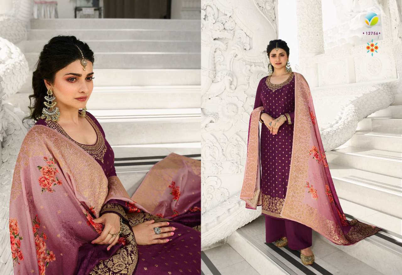Vinay Kaseesh Zareena Hit List Prachi Desai Salwar Suit Wholesale Catalog 4 Pcs 5 - Vinay Kaseesh Zareena Hit List Prachi Desai Salwar Suit Wholesale Catalog 4 Pcs