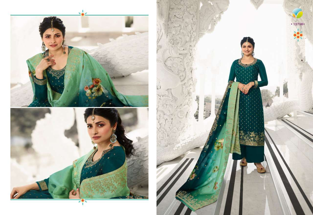 Vinay Kaseesh Zareena Hit List Prachi Desai Salwar Suit Wholesale Catalog 4 Pcs 6 - Vinay Kaseesh Zareena Hit List Prachi Desai Salwar Suit Wholesale Catalog 4 Pcs