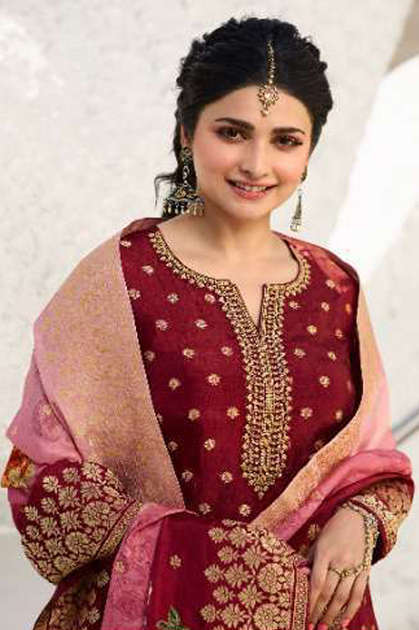 Vinay Kaseesh Zareena Hit List Prachi Desai Salwar Suit Wholesale Catalog 4 Pcs - Vinay Kaseesh Zareena Hit List Prachi Desai Salwar Suit Wholesale Catalog 4 Pcs