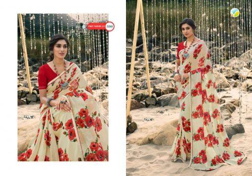 Vinay Sheesha Starwalk Vol 60 Digital Saree Sari Wholesale Catalog 11 Pcs 10 510x357 - Vinay Sheesha Starwalk Vol 60 Digital Saree Sari Wholesale Catalog 11 Pcs