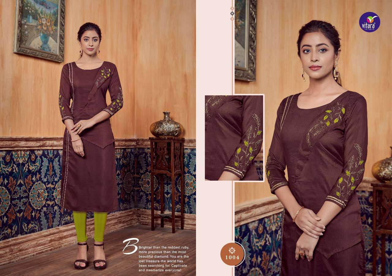 Vitara Carnival Kurti Wholesale Catalog 6 Pcs 2 - Vitara Carnival Kurti Wholesale Catalog 6 Pcs