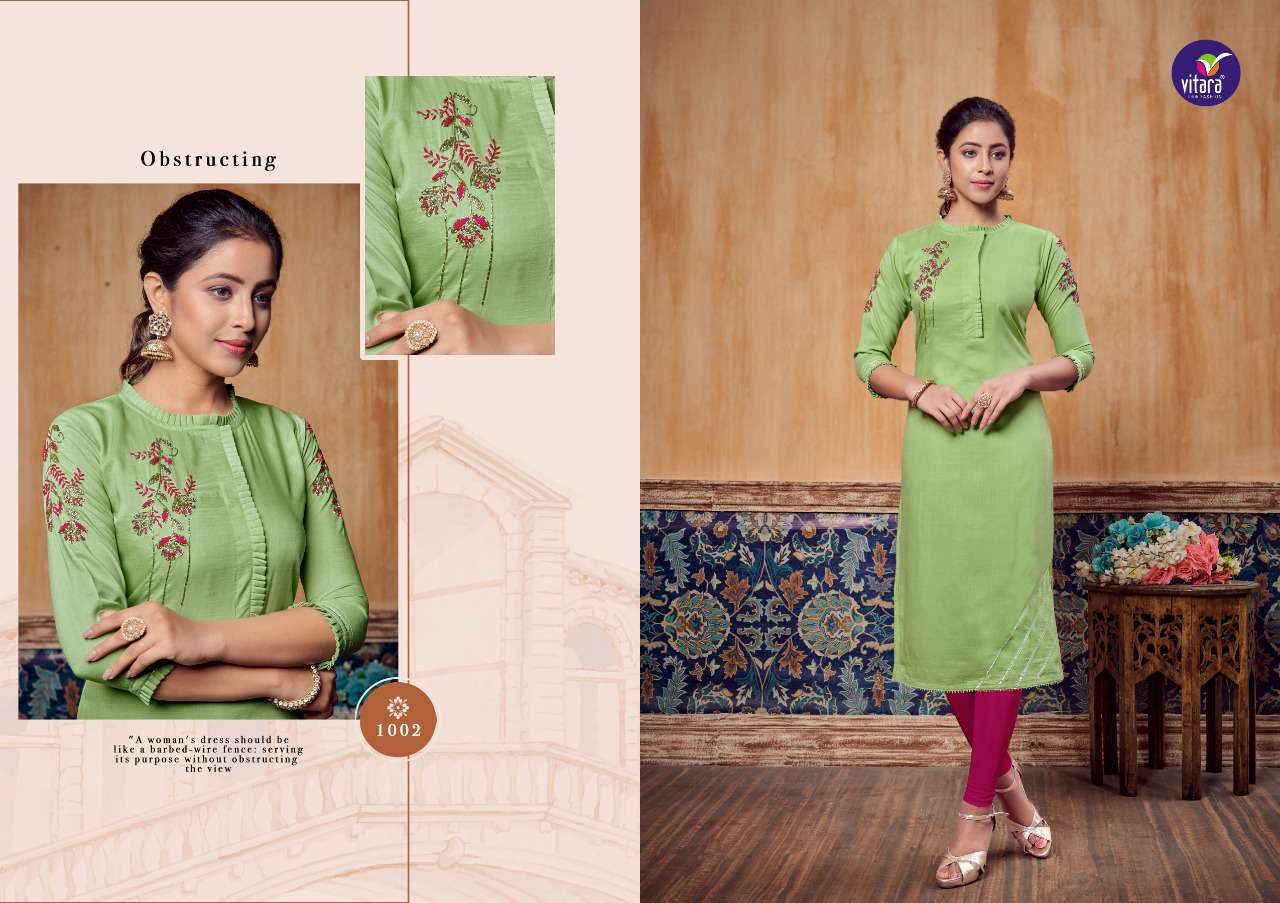 Vitara Carnival Kurti Wholesale Catalog 6 Pcs 5 - Vitara Carnival Kurti Wholesale Catalog 6 Pcs
