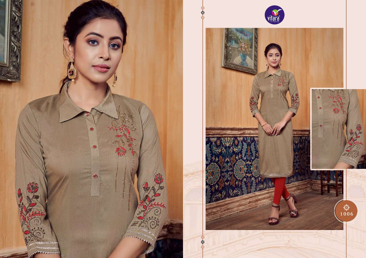 Vitara Carnival Kurti Wholesale Catalog 6 Pcs 6 - Vitara Carnival Kurti Wholesale Catalog 6 Pcs