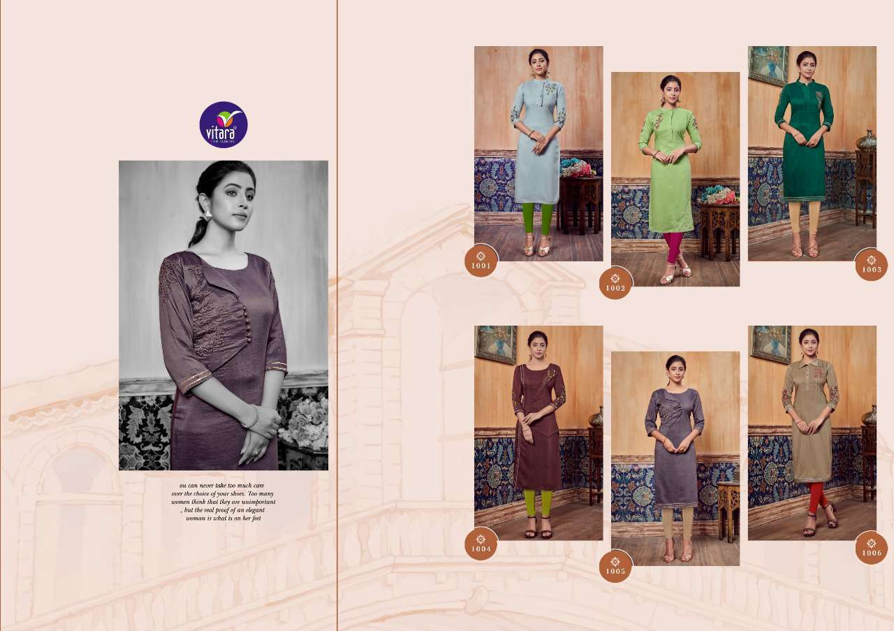 Vitara Carnival Kurti Wholesale Catalog 6 Pcs 7 - Vitara Carnival Kurti Wholesale Catalog 6 Pcs
