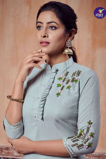 Vitara Carnival Kurti Wholesale Catalog 6 Pcs