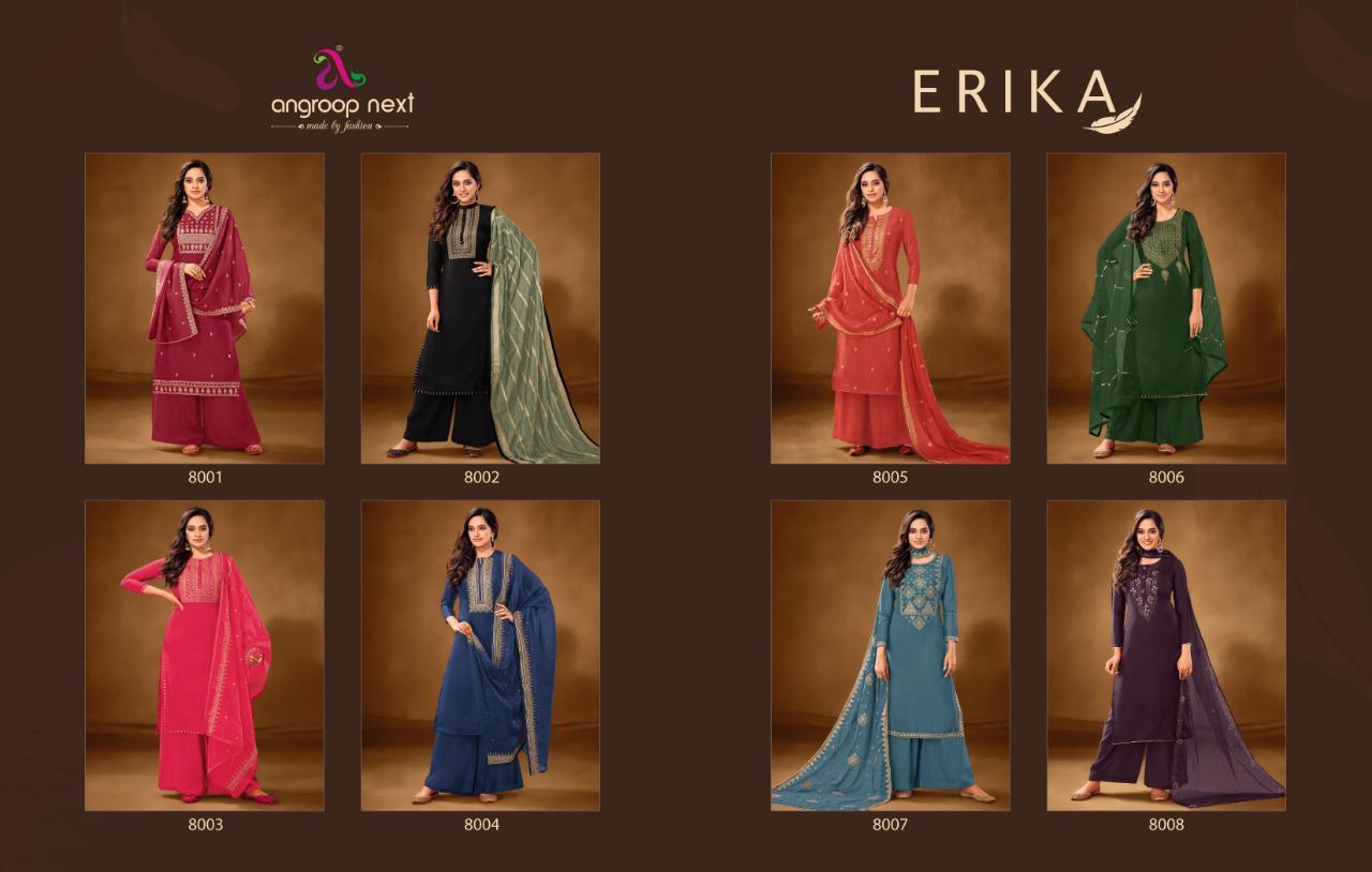 Angroop Next Erika Salwar Suit Wholesale Cataloge 8 Pcs 12 - Angroop Next  Erika Salwar Suit Wholesale Catalog 8 Pcs