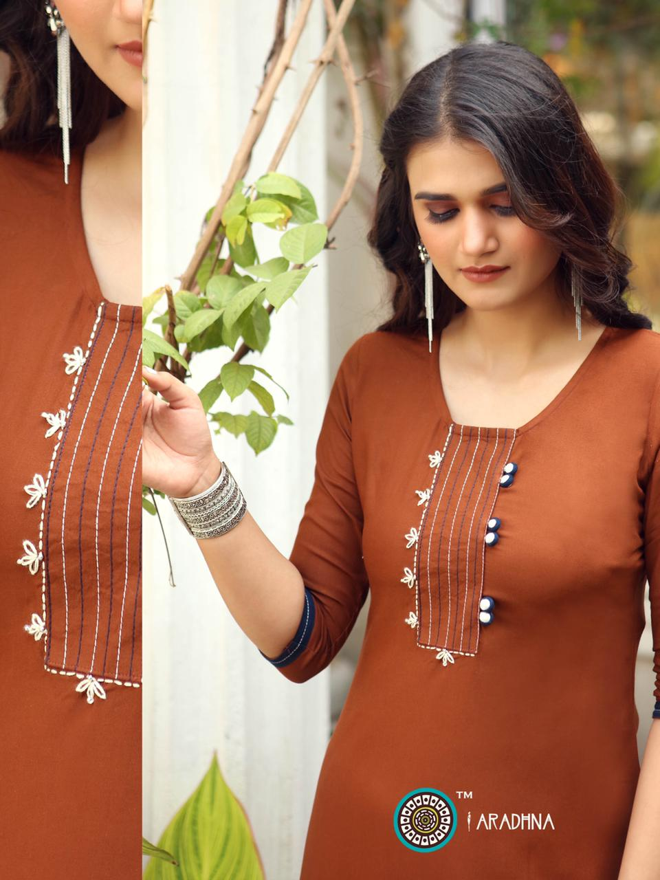 Aradhna Parrot Vol 7 Kurti Wholesale Catalog 11 Pcs 14 - Aradhna Parrot Vol 7 Kurti Wholesale Catalog 11 Pcs