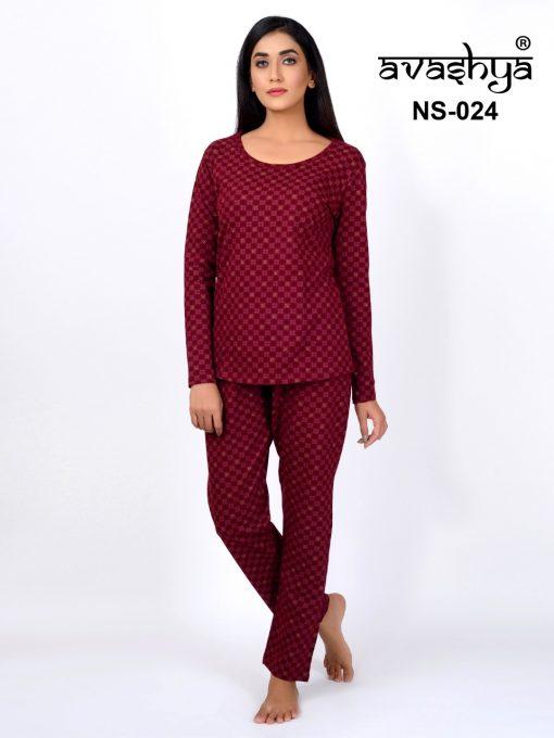 Avashya Premium Night Wear Vol 3 Wholesale Catalog 6 Pcs 5 510x680 - Avashya Premium Night Wear Vol 3 Wholesale Catalog 6 Pcs