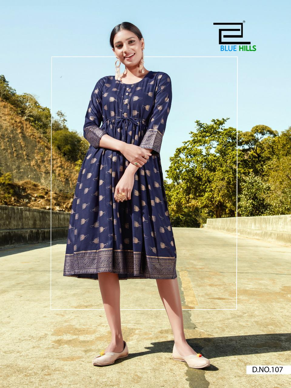 Blue Hills Payal Kurti Wholesale Catalog 10 Pcs 11 - Blue Hills Payal Kurti Wholesale Catalog 10 Pcs